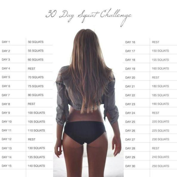 TEAM BIG BOOTY SQUAT CHALLENGE